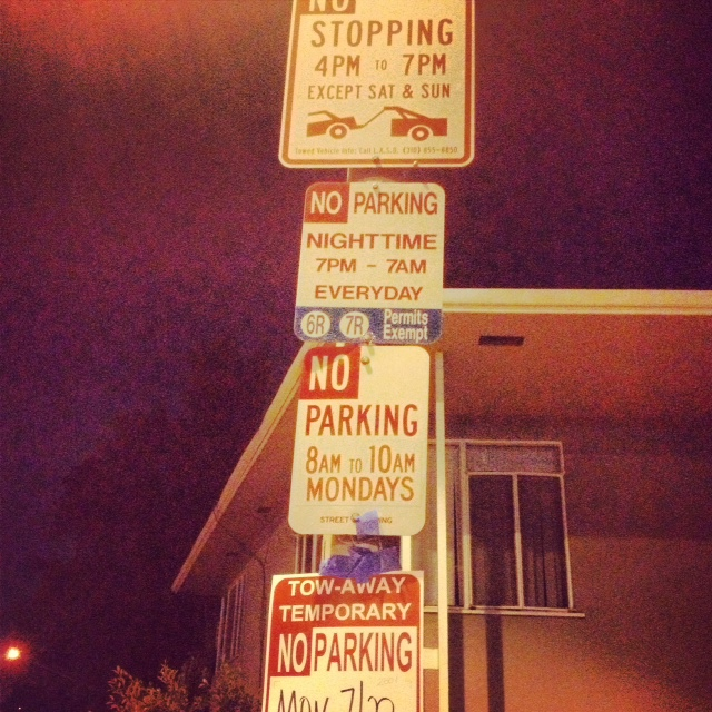 West Hollywood Parking